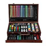Juego de lápices de colores para acuarela, arte, pintura, suministros de madera, suministros de arte para estudiantes o niños