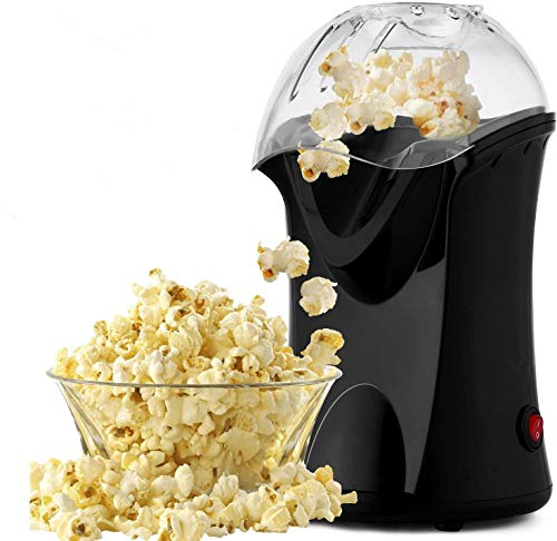 For Sale! Hot Air Popcorn Maker, 1200W Fast Hot Air Popcorn Popper with Measuring Cup, Popcorn Machi...