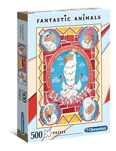 Fantastic Animals: Llamasté Puzzle, 500 Piezas, Multicolor (35069.8)