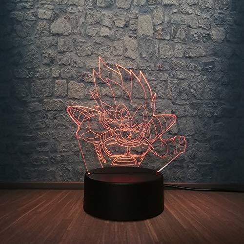 Cool Kids - Lámpara LED de noche con diseño de dragón en Z Goku