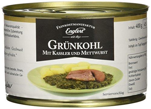 ENGLERT Grünkohl mit Kassler und Mettwurst/Dose (1 x 400 g)