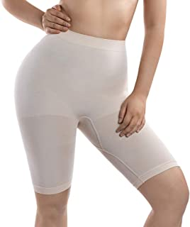 MD Women's Light Control Shapewear Mid-Thigh High Waist Tummy Shaper Slimmer Plus Size