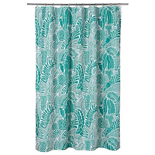 Ikea Gatkamomill Shower Curtain Turquoise White 71x71 104.662.01