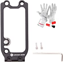 Lennon LB2 Handle Expansion Side Plate to Use with Lennon LB3 Quick Release L Plate Bracket Hand Grip for Sony A7II A7RII A7RIII A7SII A9 - Black