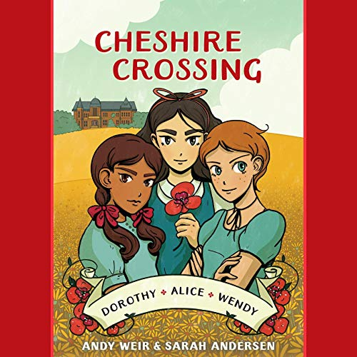 Cheshire Crossing audiobook cover art