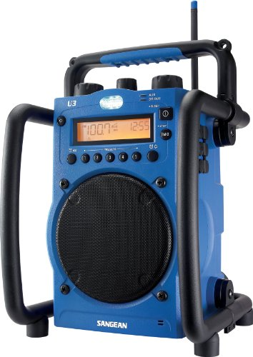 Sangean U-1 AM/FM Ultra Rugged Utility Radio