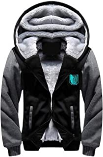 Anime Coat Cosplay Costume Hoodie Zipper Sweatshirt Jacket
