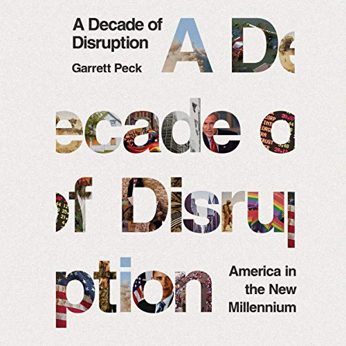 A Decade of Disruption audiobook cover art