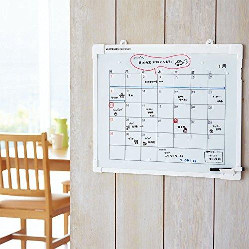 リヒトラブホワイトボードカレンダー万年カレンダーA215