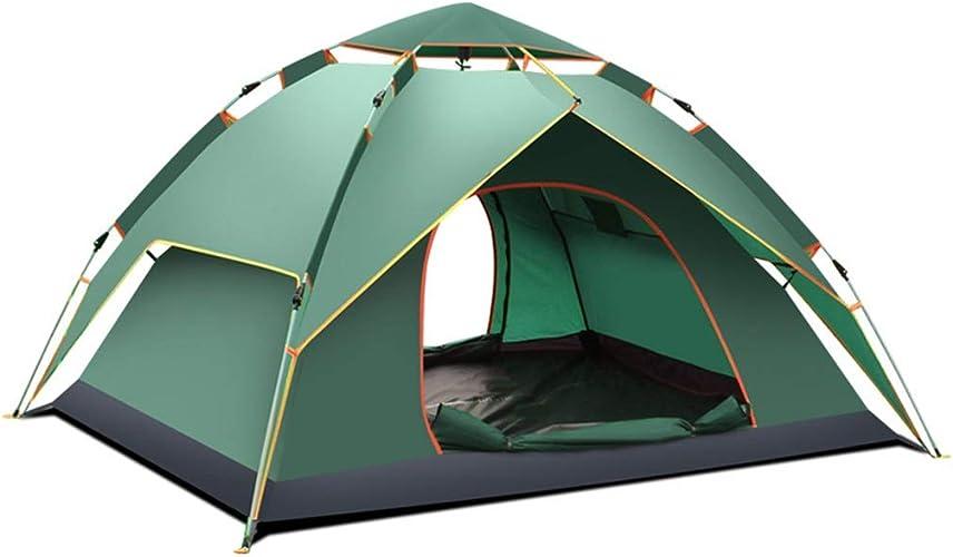 Générique DD Sports de Plein air Grand auvent de Plage 3-4 Personnes Camping Tente antipluie (Couleur   A)