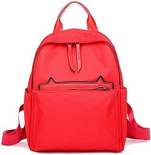 Womens Waterproof Backpack Lightweight Kitten Leisure Large Capacity School Laptop Bookbag