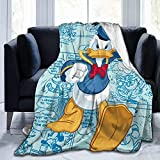 HCBDGG Kuscheldecke Decken Tagesdecken Bettdecken Don Donald Fauntleroy Duck Warm Fleece Throw Blanket Super Soft Lightweight for Couch Bed Sofa 125cmX100cm