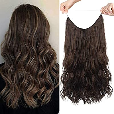 HOOJIH Halo Hair Extensions