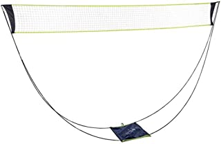 Portable Removable Badminton Net with Stand Carrying Bag,Volleyball net for Outdoor Indoor Beach Sport