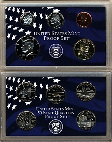 2001 S Sales of SALE items from new works U.S. Mint 10 coin Direct sale of manufacturer Proof In Set OGP Clad