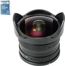 7artisans 7.5mm F2.8 APS-C Wide Angle Fisheye Fixed Lens For Sony E Mount Cameras Like A7 A7II A7R A7RII A7S A7SII A6500 A6300 A6000 A5100 A5000 EX-3 NEX-3N NEX-3R NEX-C3 NEX-F3K NEX-5 NEX-5N