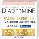 Diadermine Nachtcreme Falten Expert 3D Hyaluron-Aktivator, 50 ml