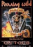 RUNNING WILD - 1998 - Tourplakat - Rivalry - Tourposter - Concert
