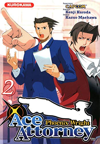 Phoenix wright : ace attorney, Tome 2 :