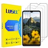 Lusee 3 Piezas Vidrio Templado Protector de Pantalla para Blackview A80 Plus y Blackview A80 Pro [Dureza 9H] [Alta Definición] [Resistente a los arañazos] [Anti-Huellas] 2.5D Pantalla Protector