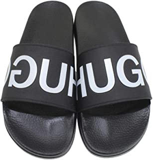 Hugo Boss Men's Timeout-RB Slides Sandals Shoes