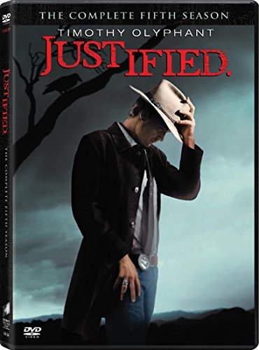 Justified: Season Five -  DVD, Timothy Olyphant