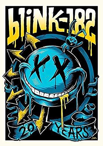 Kribee Empire - Póster de banda rara vintage de rock carteles de conc