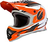 O'Neal 3Series Riff Motocross Helm MX MTB FR DH Mountain Bike Freeride Downhill Fahrrad, 0623-R-Adult, Farbe Orange, Größe M