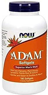 [海外直送品] ナウフーズ  ADAM Superior Men's Multi 180 Softgels