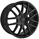 TOUREN TR60 (3260) FULL MATTE BLACK: 17x7.5 Wheel Size; 5-108/5-114.3 Lug Pattern, 72.62mm Bore, 42mm Offset.