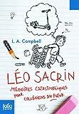 Léo Sacrin. Mémoires catastrophiques pour collégiens du futur - Folio Junior - A partir de 10 ans