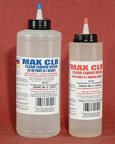 MAX CLR Epoxy Resin System FDA Compliant Coating
