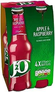 J2O Apple & Raspberry - 4 x 275ml (37.2fl oz)