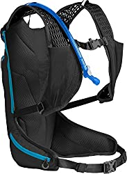 CamelBak Octane XCT 70 Crux Reservoir Hydration Pack, Black/Atomic Blue, 2 L/70 oz