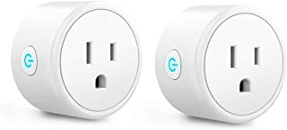 Mini Smart Plugs – Aoycocr WIFI Outlet Compatible with Alexa, Google Home &..