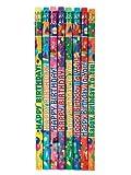 Raymond Geddes Birthday Assorted Pencils (Pack of 144)