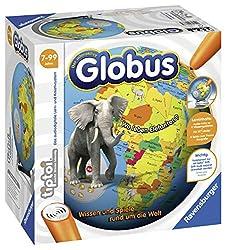 """Ravensburger tiptoi 00787 - """"Der interaktive Globus"""" / Spiel von Ravensburger ab 7 Jahren / Wissen und Spiele rund um die Welt"""