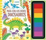 Dinosaurios Pinta Con Los Dedos