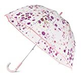 Kate Spade New York Purple/Blush Floral Large Dome Umbrella, Pacific Petals