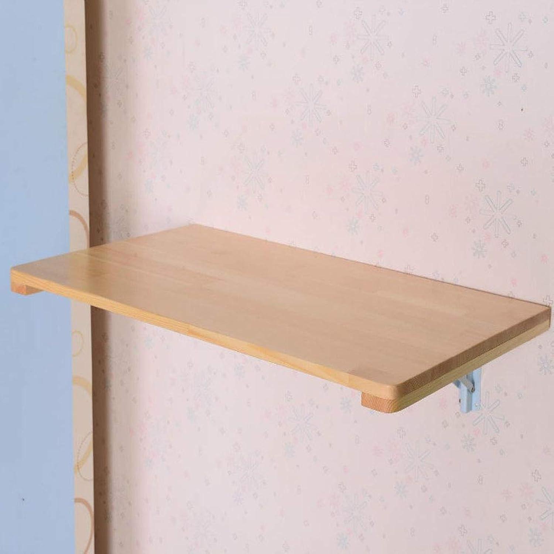 el mas de moda AFDK Mesa plegable de madera maciza Mesa Mesa Mesa montada en la parojo Escritorio portátil Mesa de comedor Mesa de parojo con hojas abatibles, tamaño de Color opcional,80  50cm  Envio gratis en todas las ordenes