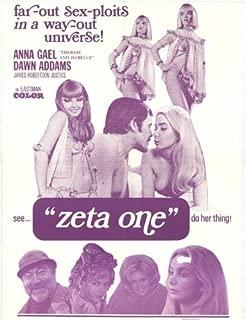Zeta One Movie Poster (27 x 40 Inches - 69cm x 102cm) (1970) -(James Robertson Justice)(Charles Hawtrey)(Robin Hawdon)(Anna Gael)(Brigitte Skay)(Dawn Addams)