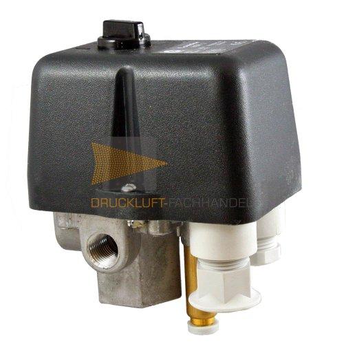 Condor MDR 2/11 Leistungs-Druckschalter für Kompressoren inkl. Entlastungsventil EV 2S