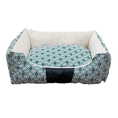 KJUHVBF Lona extraíble y lavable, cómoda y grande, fácil de mover, sucia y fácil de limpiar, para que los gatos y perros tengan una cómoda cama