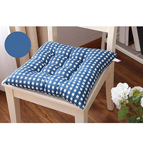 Ouneed®Point Chaise Coussin Canapé 40 * 40cm (Bleu)