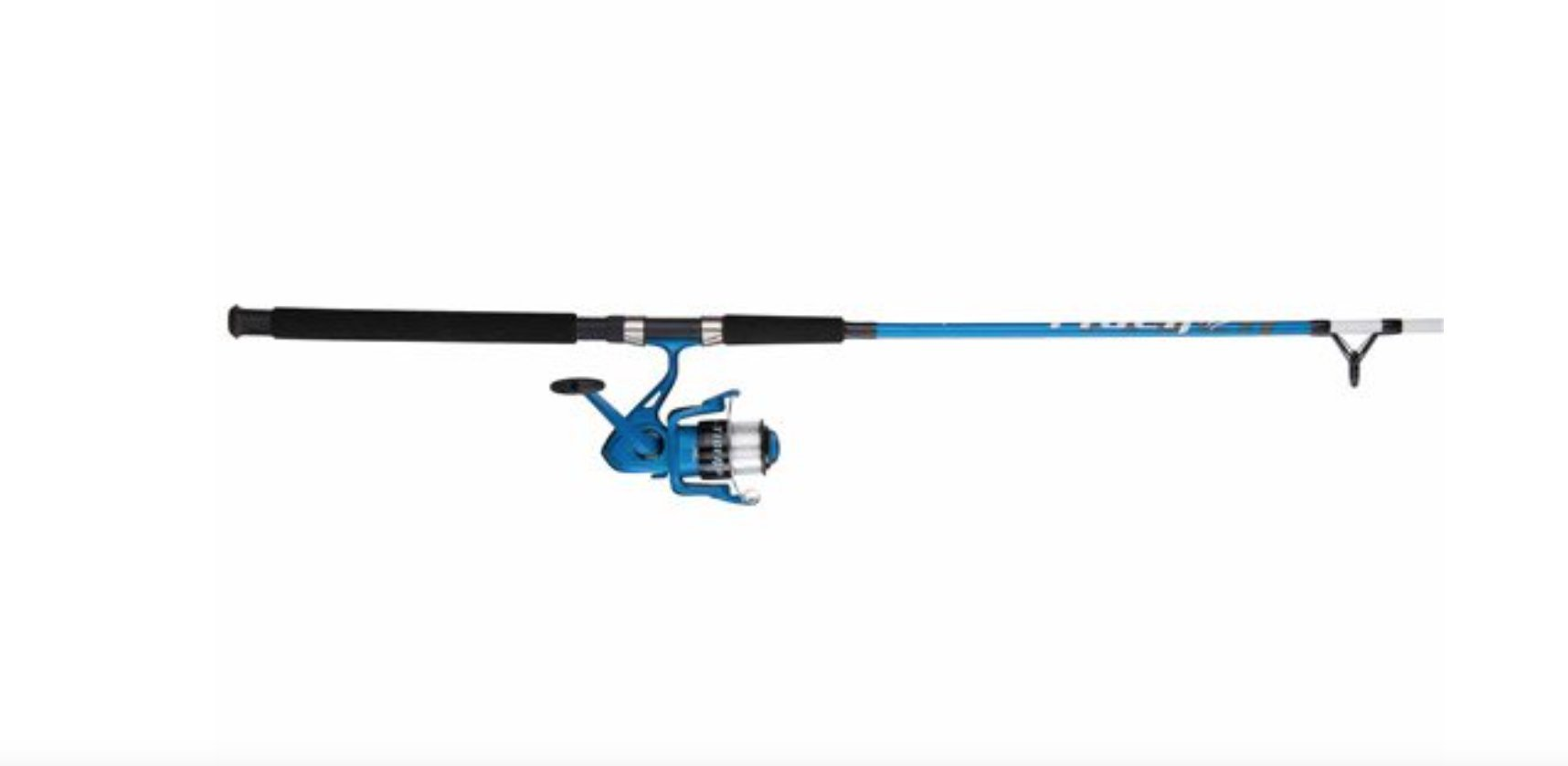 Shakespeare Tigre 7 2 Piece Spinning caña y Carrete Combo, Color ...