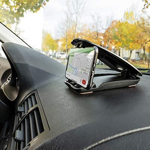 Mobilefox Auto Handy Halterung KFZ Armaturenbrett Klapp Halter PKW für Huawei P30 P20 Pro Lite P10 P9 P8 Mate 10 20 - 3