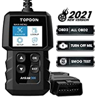 Topdon AL300 OBD2 Scanner Fault Code Reader Car Diagnostic Scan Tool for All 1996+ Vehicles