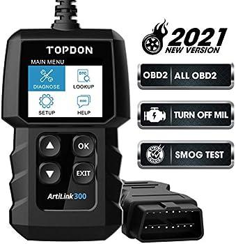 Topdon AL300 OBD2 Scanner Fault Code Reader Car Diagnostic Scan Tool