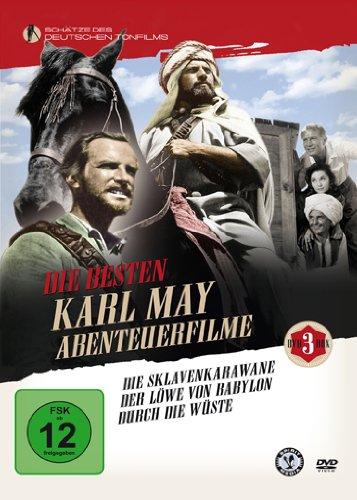Die besten Karl May Abenteuerfilme [3 DVDs]