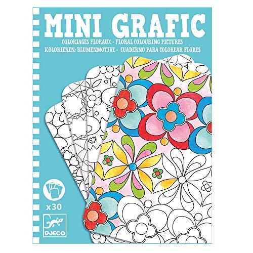 Djeco Mini grafic multicolore -dj05380 - Version Espagnole